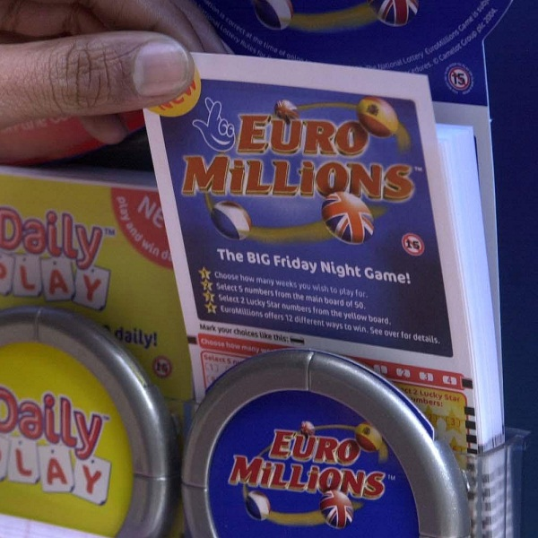 EuroMillions Jackpot Worth €190 Million on Friday