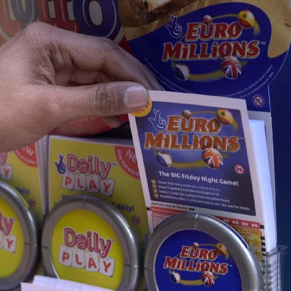 €17M EuroMillions Results for Friday August 25