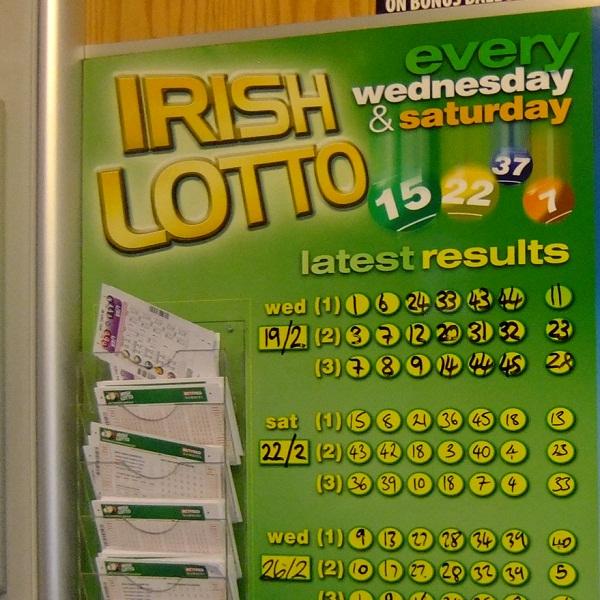 �2,385,571 Irish Lotto Jackpot Rollsover To Next Draw