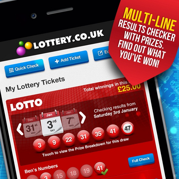 Mobile Devices Lead to Record Lottery Ticket Sales