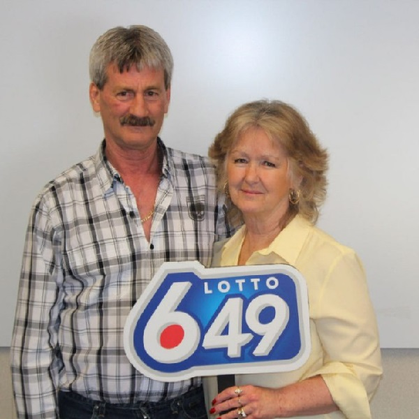Canadian Couple Celebrate Third Lottery Win