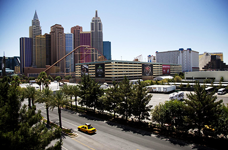 MGM and AEG to Build Las Vegas Strip Arena