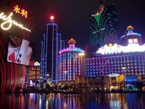 Macau Enjoys 13.5% Increase in Revenues