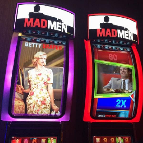 Las Vegas Prepares to Welcome Mad Men Slots
