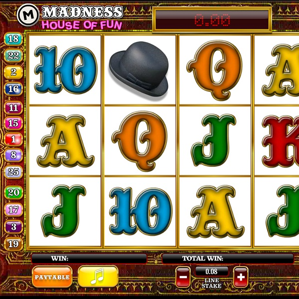 Madness: House of Fun Video Slots at Paddy Power Casino Offers £35K