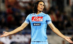 Madrid and Manchester are Willing to pay £130 Million for Edinson Cavani, Who Will Win The Battle?