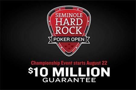 Massive Prize Pool at Seminole Hard Rock Main Event
