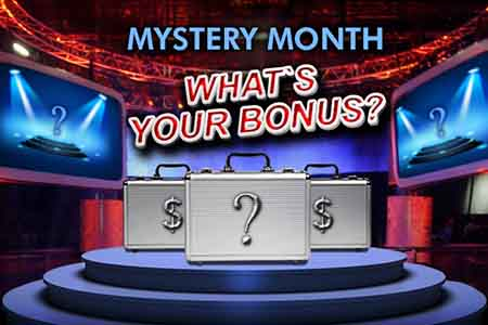 Massive Prizes in Bovada Poker Mystery Month Promotion