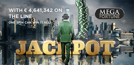 Mega Fortune Jackpot Grows to Over €4.5 Million