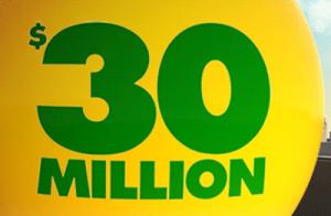Melbourne Man Wins $30 Million Jackpot