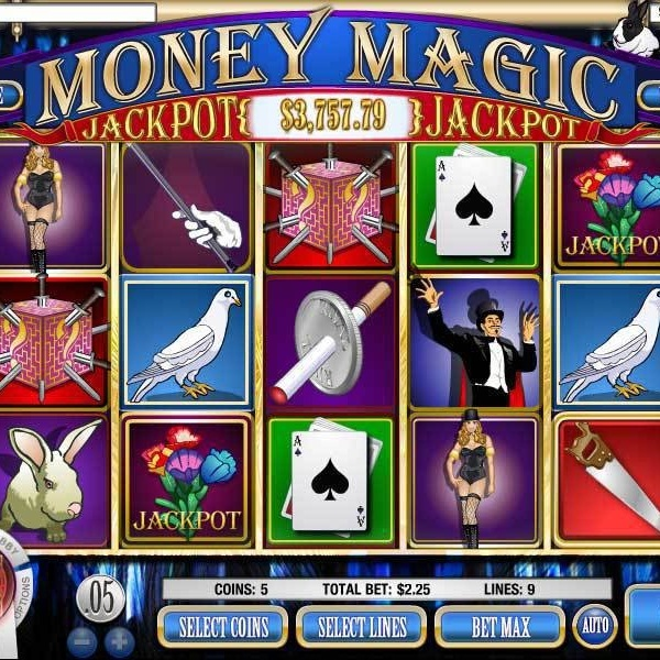 Ruby Royal Casino Money Magic Video Slot Jackpot Exceeds $10.4K