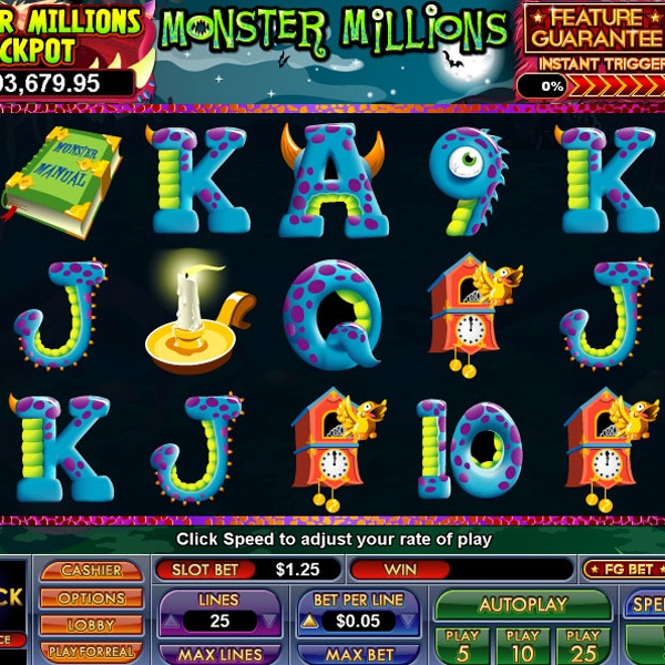 Monster Millions Jackpot at Lucky Club Casino Soars Past $1 Million