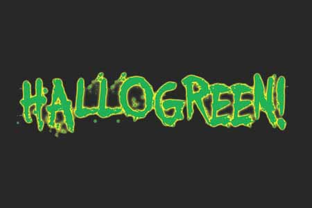 Mr Green Celebrates Halloween with Hallogreen