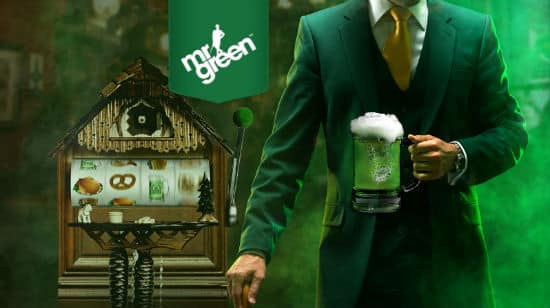 Win a 1KG Gold Bullion at Mr Green Casino and More