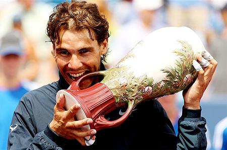 Nadel Wins Cincinnati Open to Overtake Murray in World Rankings