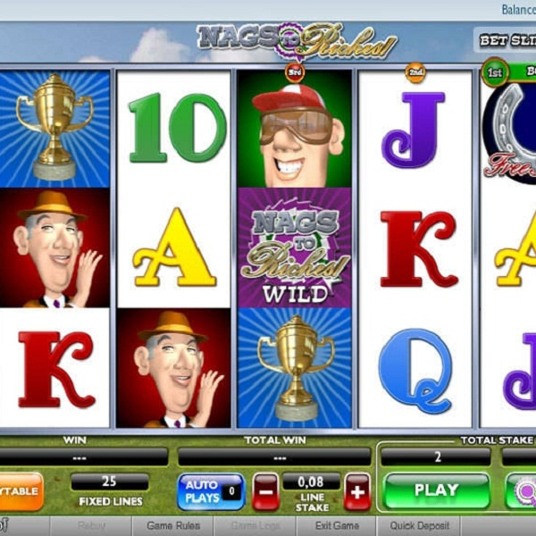 Nags to Riches Video Slots at Betfair Casino Offers £15K