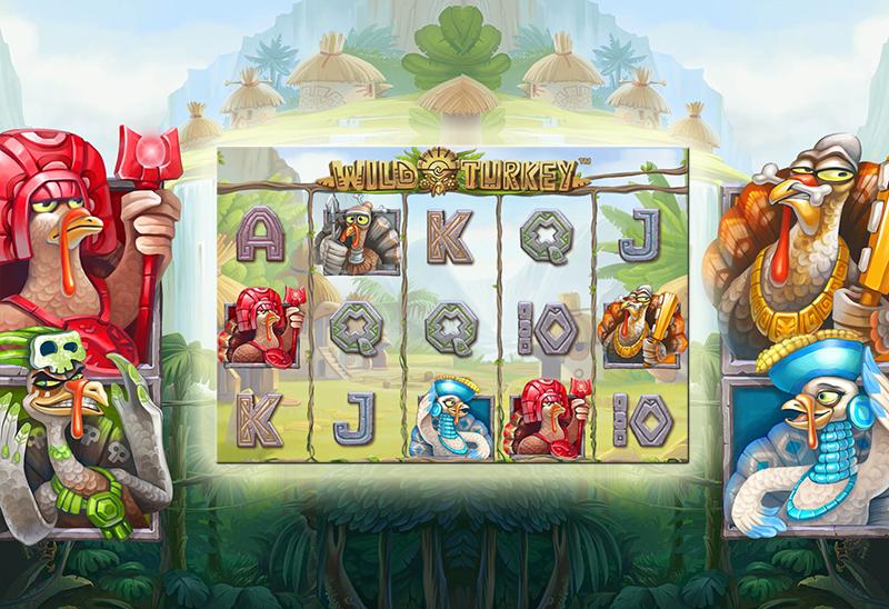 Net Entertainment Launches Wild Turkey Slots