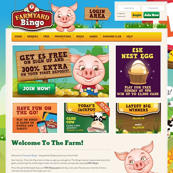 Farmyard Bingo Launches With Quality Bingo
