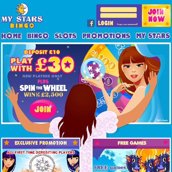 My Stars Bingo Offers A Huge Welcome Bonus
