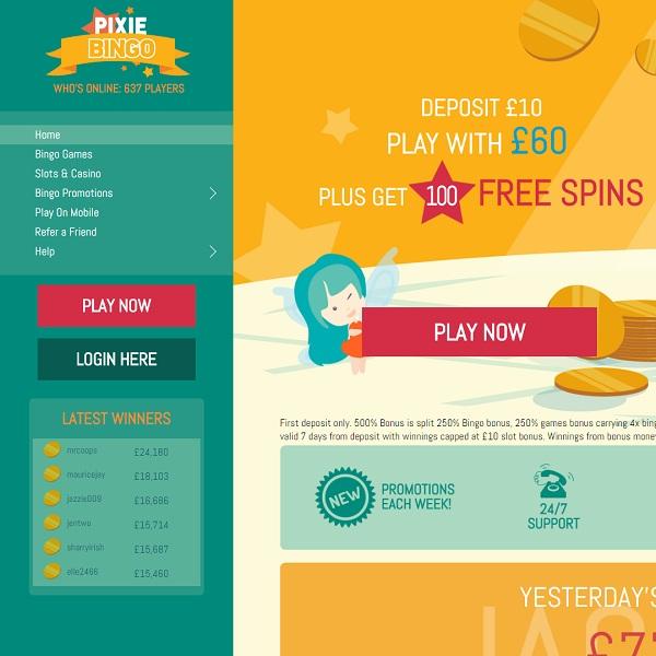 Pixie Bingo Brings the Magic to Online Bingo