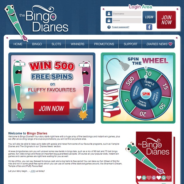 Bingo Diaries Goes Live With All the Latest Gossip