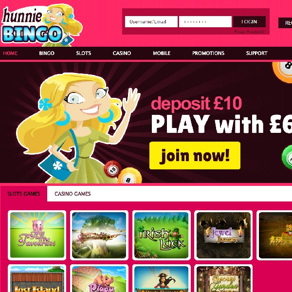 Hunnie Bingo Launches with 500% Welcome Bonus