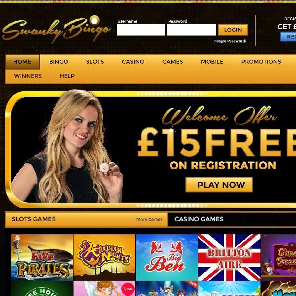 Swanky Bingo Brings Luxury to Online Bingo