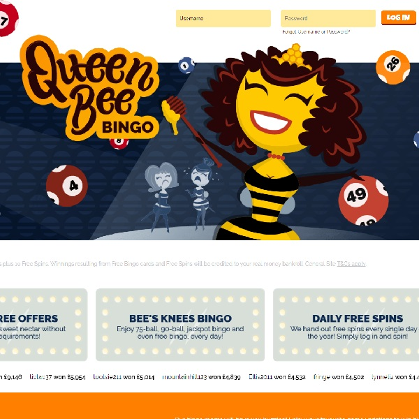 Queen Bee Bingo Offers Sweet Rewards to Players
