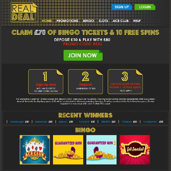 Real Deal Bingo Takes You to the Big City