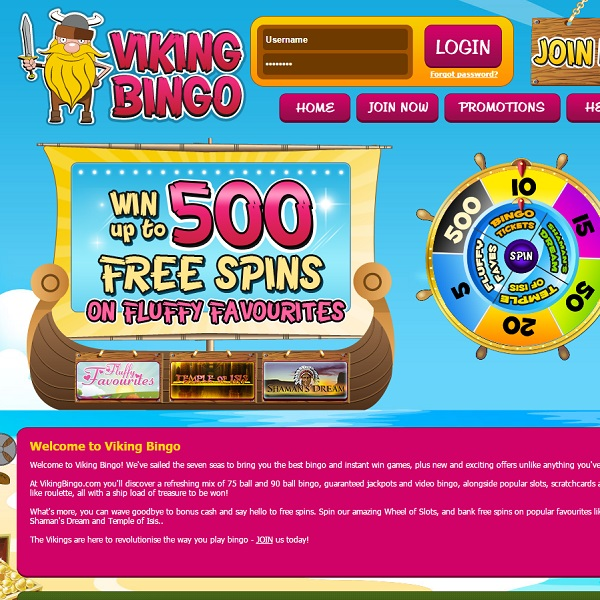Viking Bingo Invites You to Conquer its Games