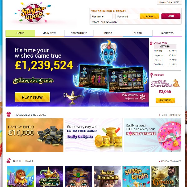 Sugar Bingo Goes Live for Sweet Online Play