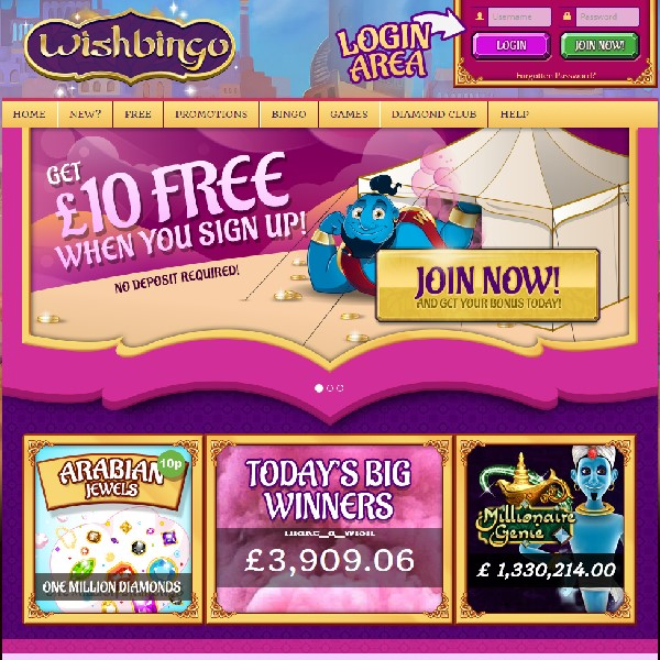 Wish Bingo Launches With Daily Free Bingo Games