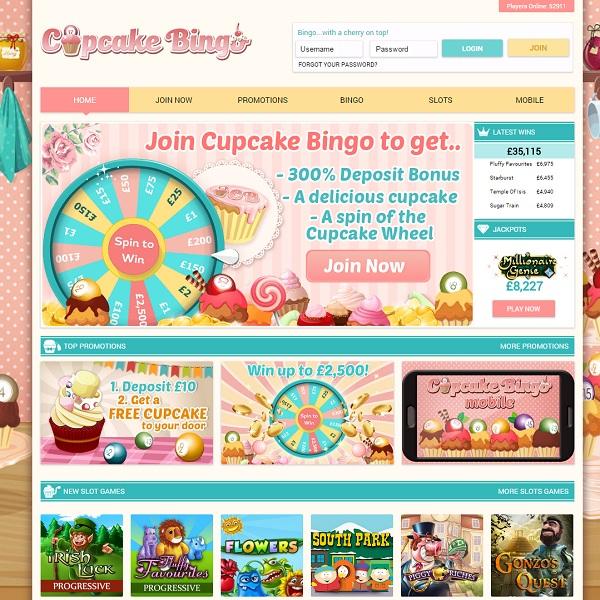 Cupcake Bingo Review –Sweet Bingo Treats