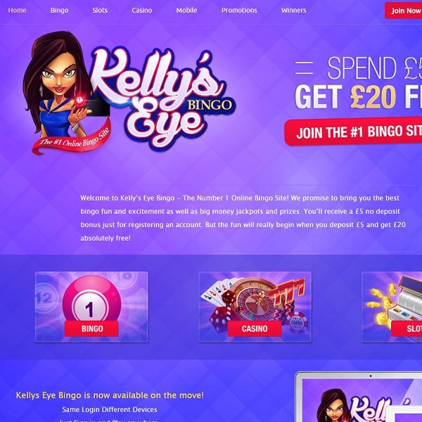 Kelly's Eye Bingo Offers Fun Filled Online Bingo
