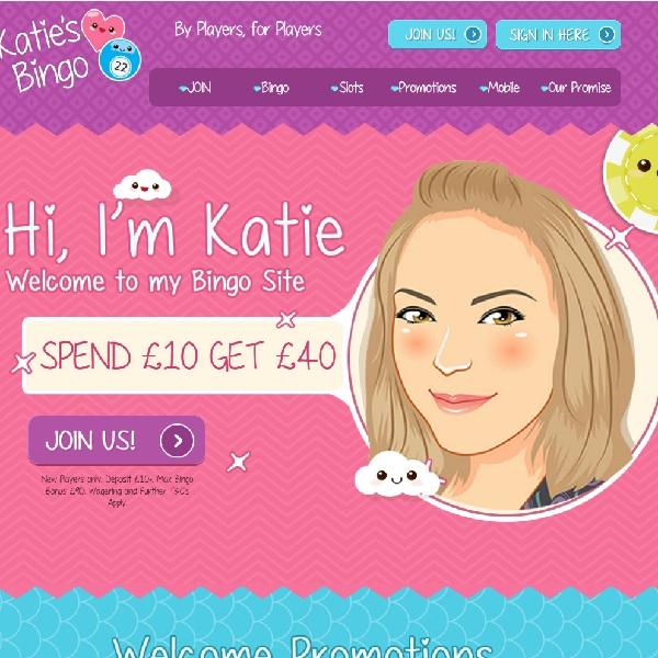 Katie's Bingo Offers Hundreds of Top Games