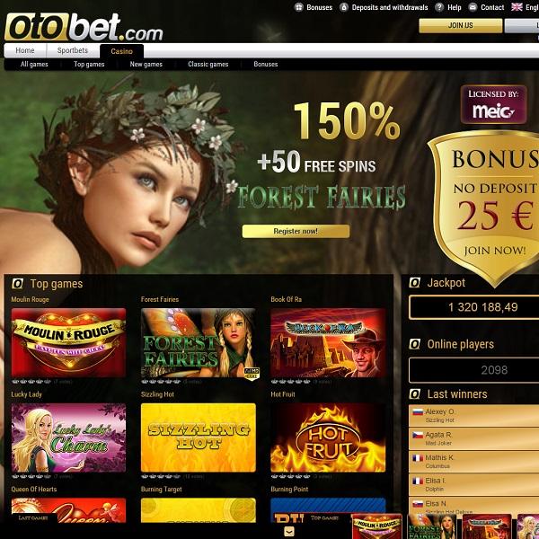 OtoBet Casino offers an Adventure For Casino Gamblers