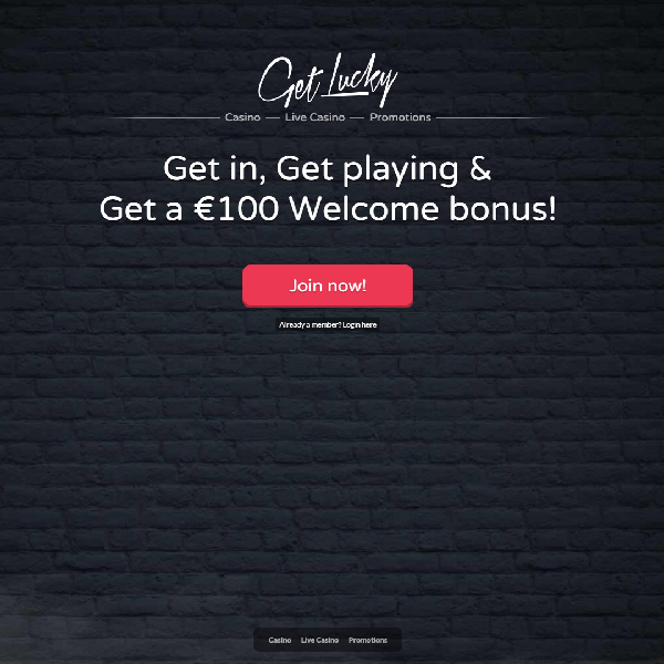 Get Lucky Casino Brings Hundreds of Chances to Win