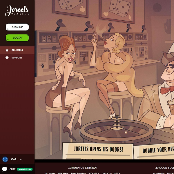Joreels Casino Launches with a 1920s Theme