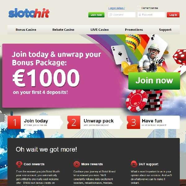 SlotoHit Casino Puts The Player First