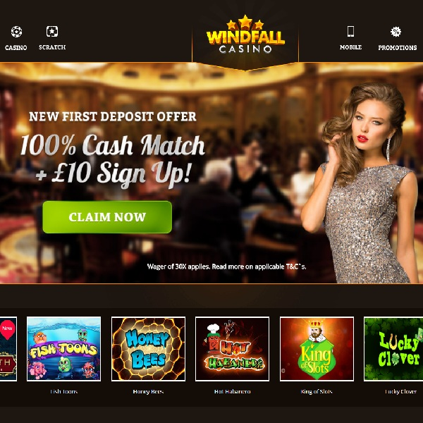 Windfall casino gambling hockey odds