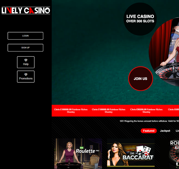 Lively Casino Brings the Best Live Dealers