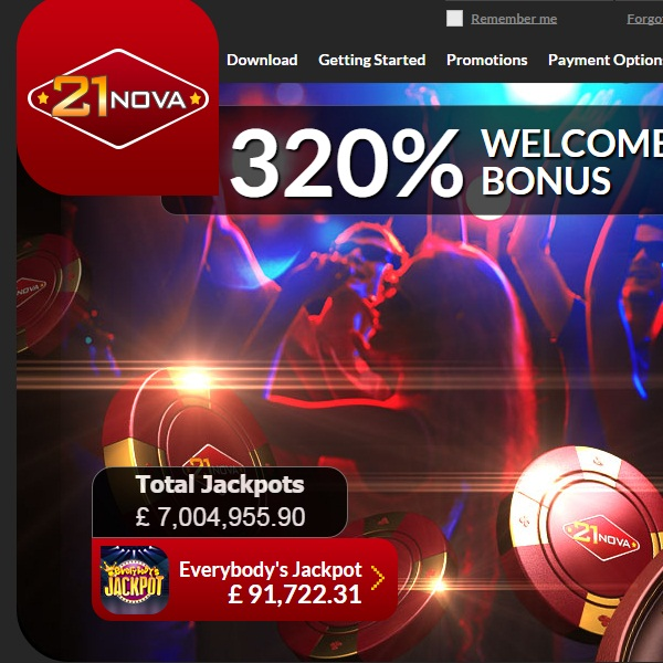 21Nova Casino Re-launched With Award Winning Games
