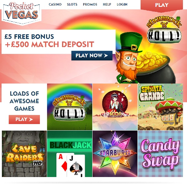 Pocket Vegas Casino Exciting Mobile Gaming