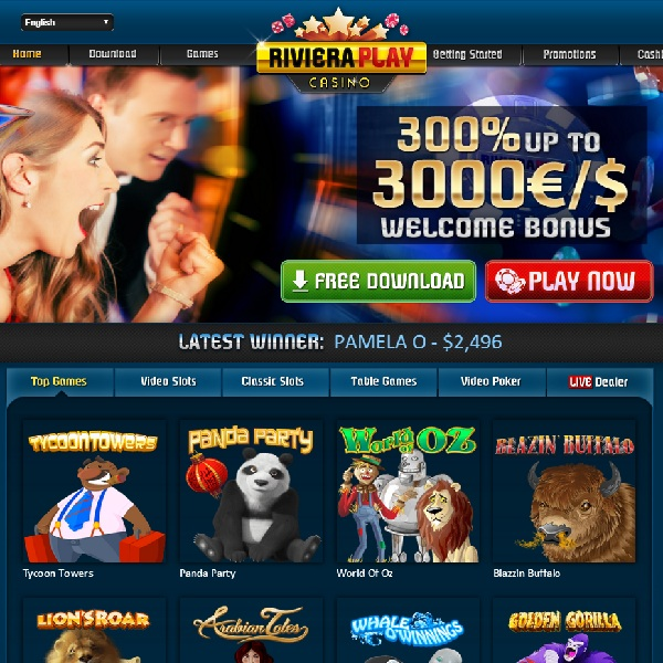 Riviera Play Casino Offer Relaxing Costal Gambling