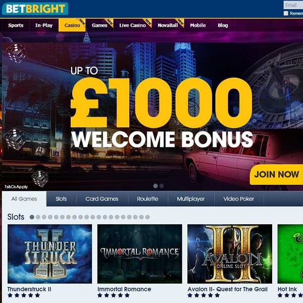 BetBright Casino Brings Members Top Quality Gambling