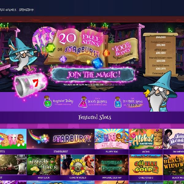 Wizard Slots Casino Conjures Up Top Games