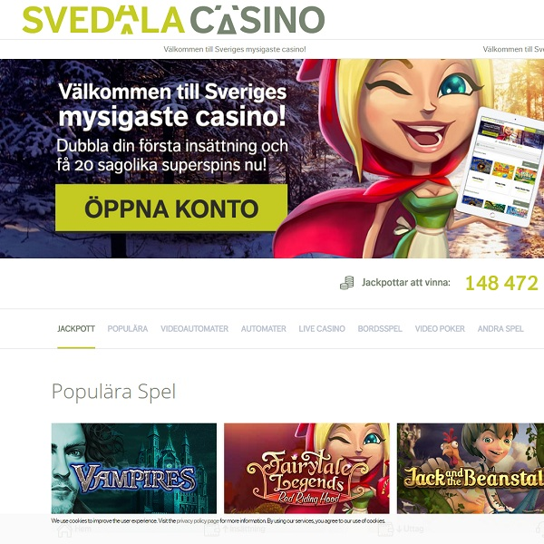 Svedala Casino Brings Quality Games to Swedish Speakers