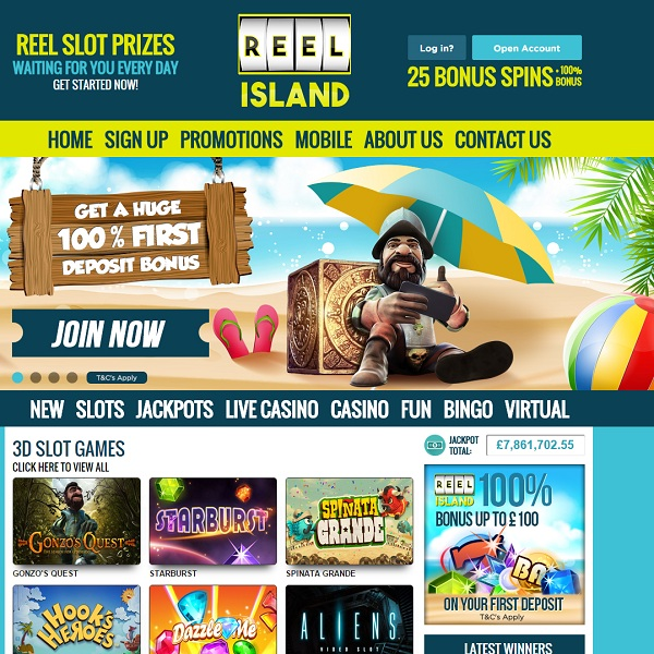 Reel Island Casino Brings the Best Online Slots