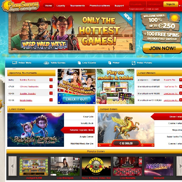 Play Sunny Casino Launches with the Hottest Games