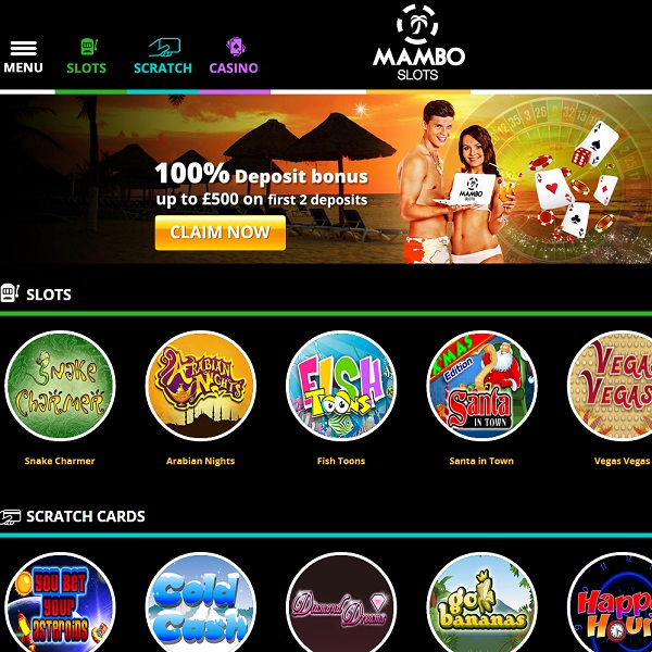 Mambo Slots Casino Takes its Players to the Tropics